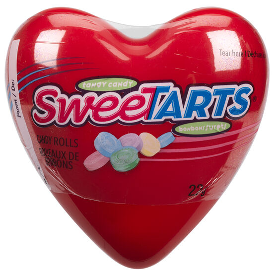 Wonka Red & Purple Hearts - Assorted - 22g