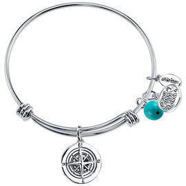UNWRITTEN Stainless Steel Joy Journey Expandable Bangle