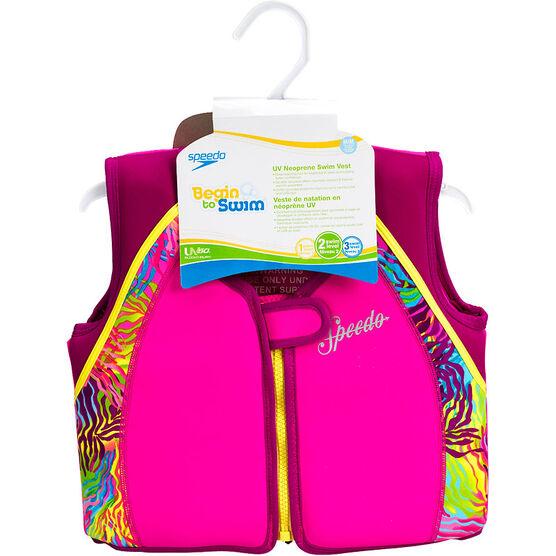Speedo Begin to Swim Printed UV Neoprene Swim Vest - Assorted - Sizes M-L