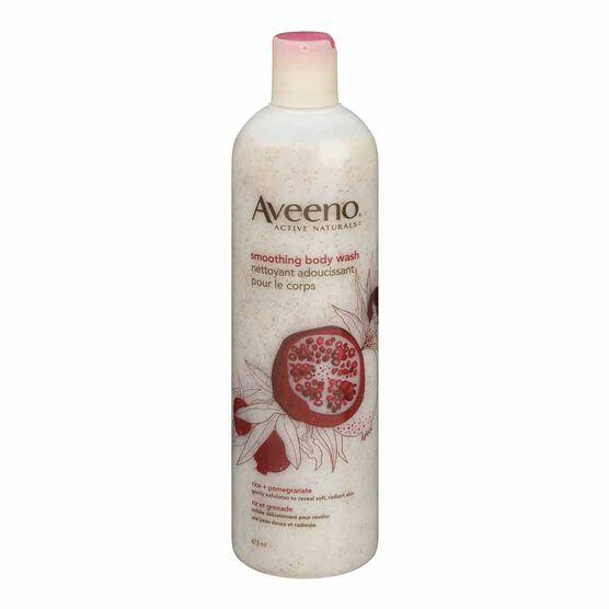 Aveeno Body Wash - Smoothing - 473ml