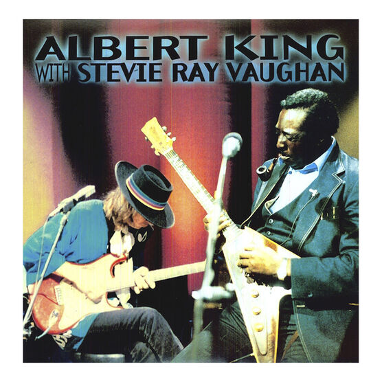 Albert King with Stevie Ray Vaughn - 1983: In Session - Vinyl