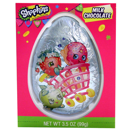Shopkins Easter Egg - Milk Chocolate - 99g
