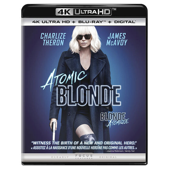 Atomic Blonde - UHD 4K Blu-ray