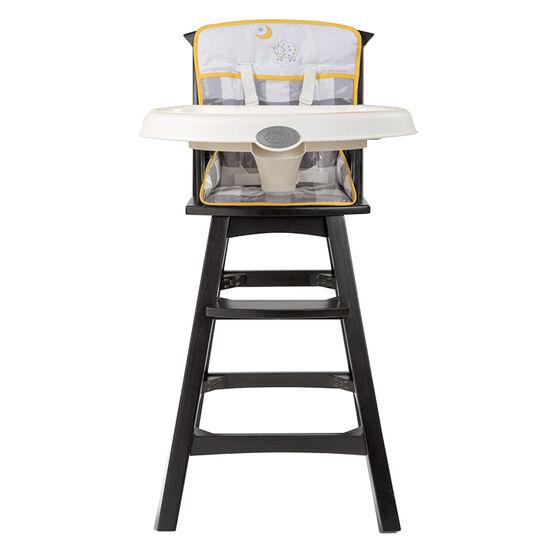 Summer Infant Classic Comfort Wood Highchair - Buffalo Check - 22493