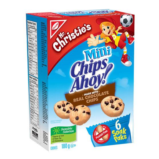 Christie Mini Chips Ahoy - 6 pack