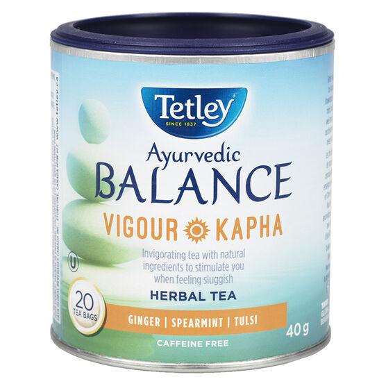 Tetley Balance Vigour Kapha Tea - Ginger - 20's