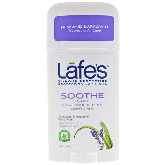 Lafe's Soothe Deodorant Stick - Lavender & Aloe - 64g