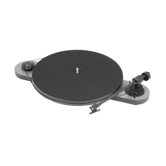 Pro-Ject Elemental Turntable - Black/Silver - PJ50439146