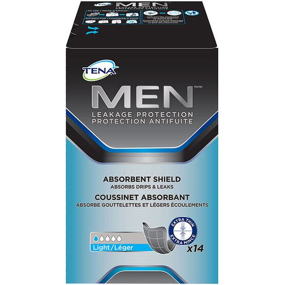 Tena Men Absorbent Shield - 14's