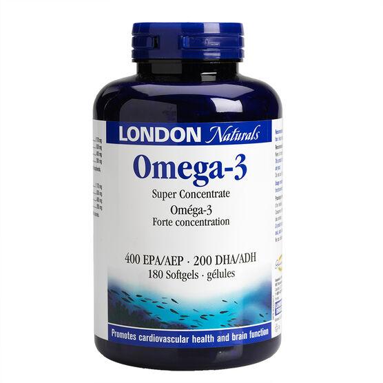London Naturals Omega 3 Softgels - 180's