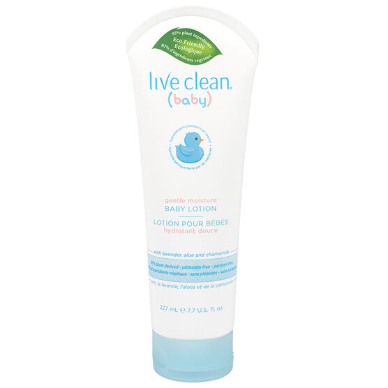 Live Clean Moisturizing Baby Lotion - 227ml