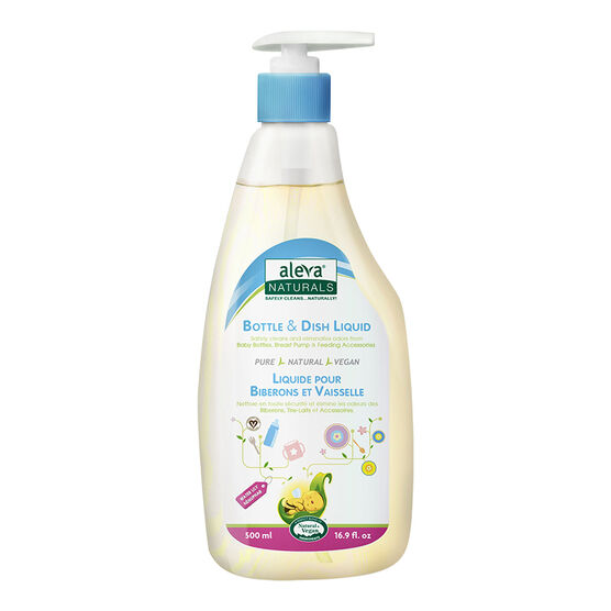 Aleva Bottle and Dish Liquid - Water Lily - 500ml - 37802