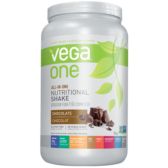 Vega One All-in-One Nutritional Shake - Chocolate - 876g