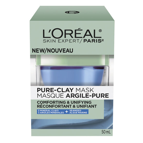 L'Oreal Pure-Clay Mask - Comforting & Unifying - 50ml