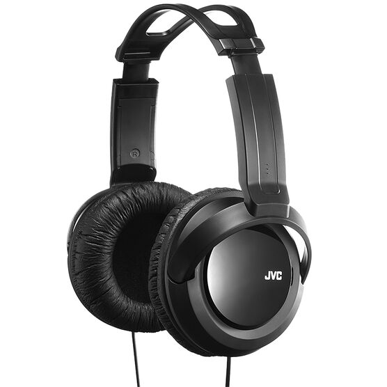 JVC Over-Ear Headphones - Black - HARX330