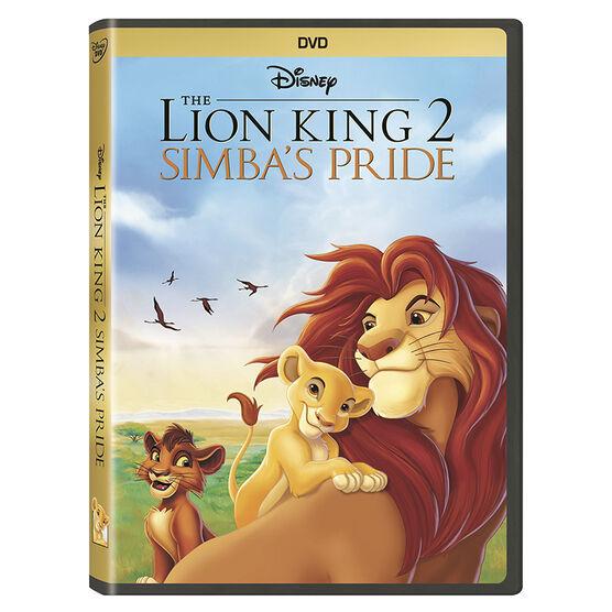 The Lion King 2: Simba's Pride - DVD
