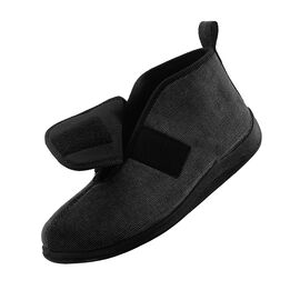 Silvert's Men's Comfy Bootie Slippers - 7 - 14
