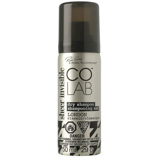 COLAB Dry Shampoo London - Sheer Invisible - 50ml