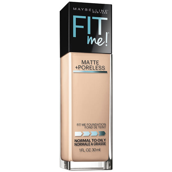 Maybelline Fit Me Matte and Poreless Foundation - Ivory