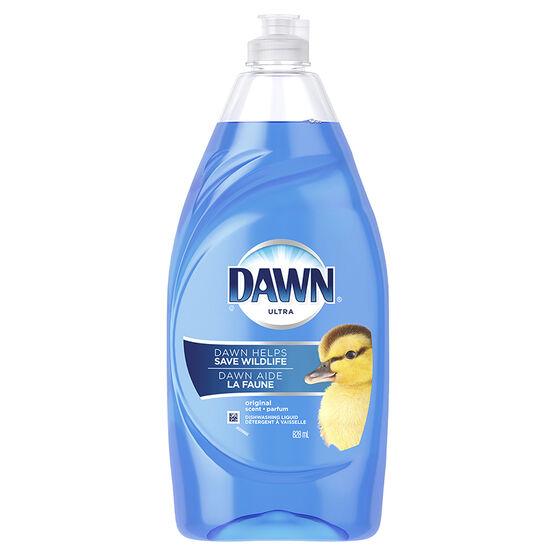 Dawn Ultra Dishwashing Liquid - Original - 828ml
