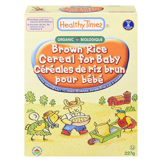 Healthy Times Baby Cereal - Brown Rice - 170g