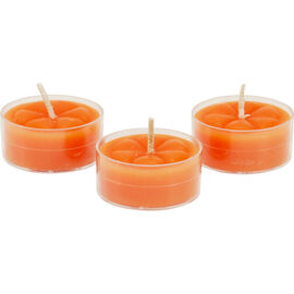 Fragrant Reflection Tealight Candles - Citrus Squeeze - 6 pack