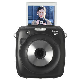 Fujifilm Instax SQUARE SQ10 Camera - Black - 600018484