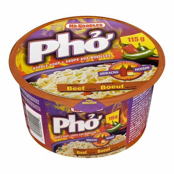 Mr. Noodles - Pho Noodles Beef - 115g