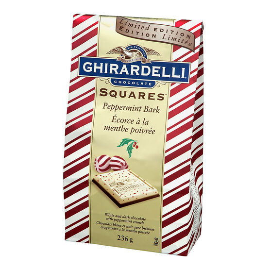 Ghirardelli Chocolate Squares with Peppermint - 200g