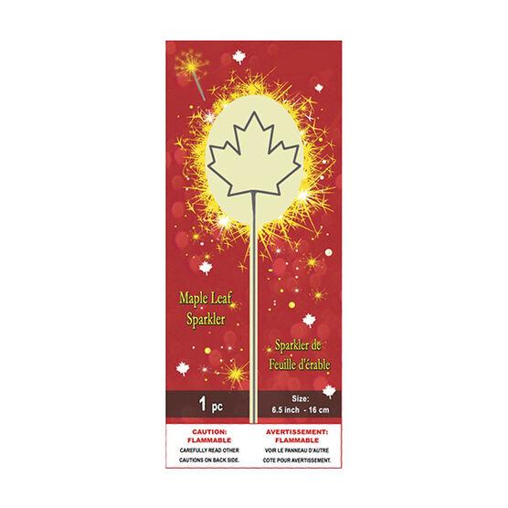Canada Maple Leaf Sparkler