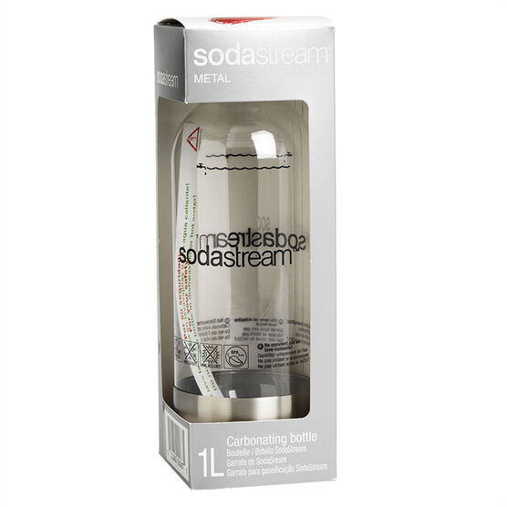 SodaStream Bottle - Stainless Steel - 1L