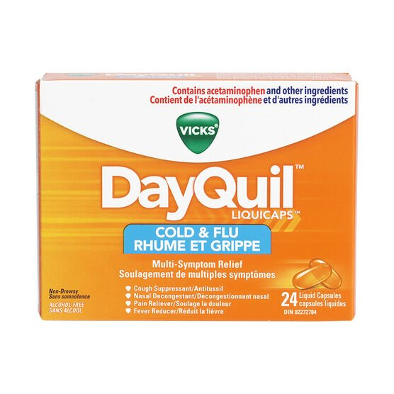 Vicks Dayquil Liquicaps - 24's