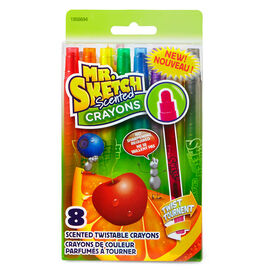 Mr. Sketch Scented Twistable Crayons - 8 pack