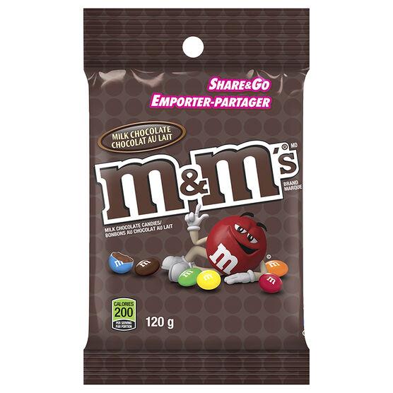 M&M's Milk Chocolate - 120g
