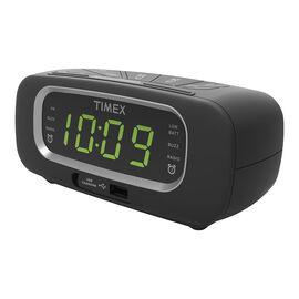 Timex Dual Alarm Clock Radio - Black - T2351BC