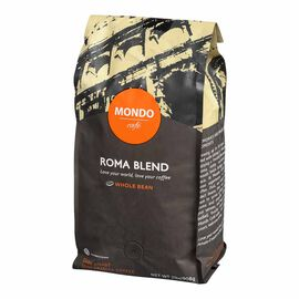 Mondo Cafe Roma Whole Bean Coffee - Dark Roast - 908g