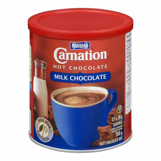 Carnation Hot Chocolate - Milk Chocolate - 500g