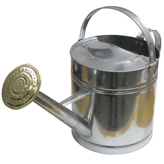 Green House Galvanized Zinc Watering Can - Zinc - 7.5L