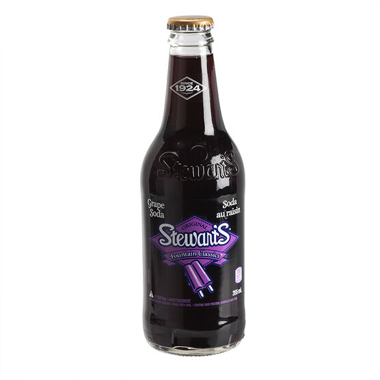 Stewart's Soda - Grape - 355ml
