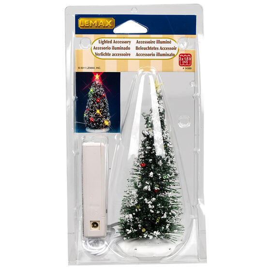 Lemax Battery-Operated Lighted Christmas Tree - 4.5V