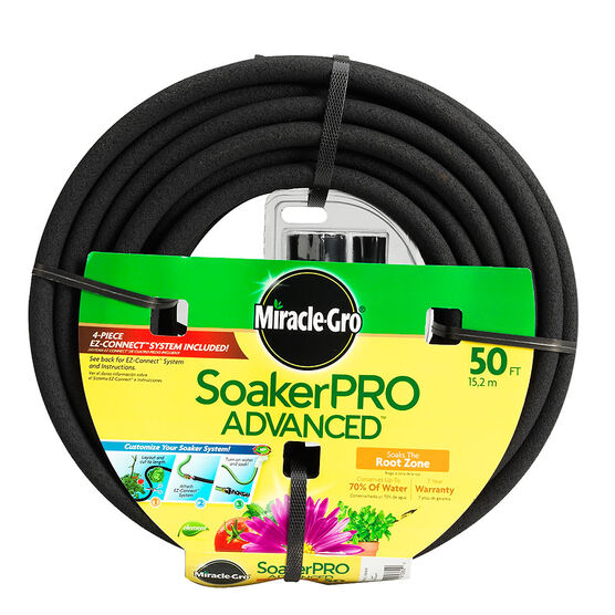 Miracle-Gro Soaker Pro Hose - 3/8inch x 50 feet