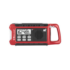 Midland Compact Emergency Crank Radio - Black/Red - ER210