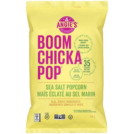 Angie's BOOMCHICKAPOP Popcorn - Sea Salt - 142g
