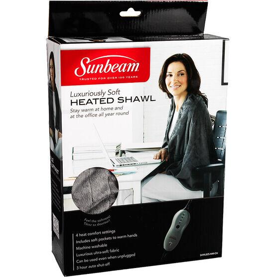 Sunbeam Heated Personal Shawl - Grey - SHWL825-MM-CN