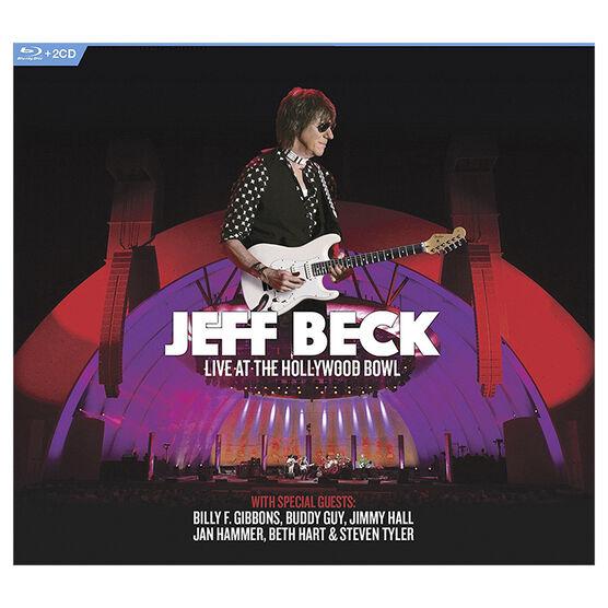 Jeff Beck: Live at the Hollywood Bowl - Blu-ray + 2 CD