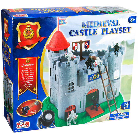 Red Box Medieval Castle