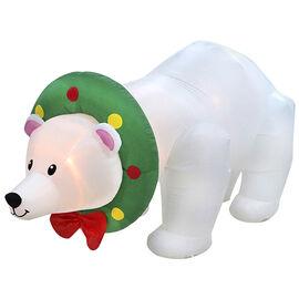 Danson Inflatable Polar Bear - 7.8ft