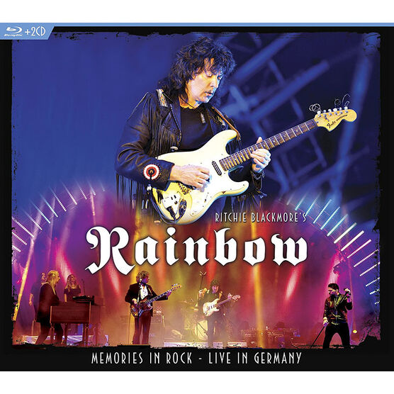 Ritchie Blackmore's Rainbow - Memories In Rock: Live in Germany - Blu-ray