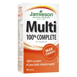 Jamieson Multi 100% Complete Vitamin - MAX Strength - 90's