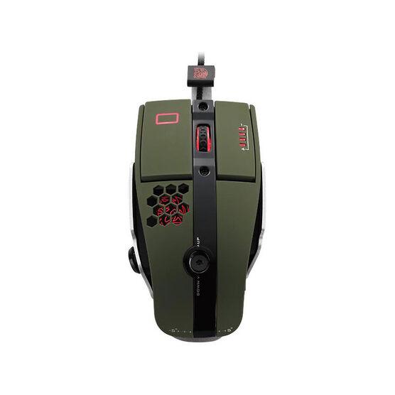 Tt eSports Level 10 M Gaming Mouse - Green - MO-LTM009DTK